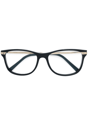 Cartier Eyewear square framed optical glasses - Black