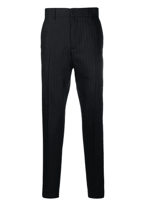 Acne Studios pinstripe tailored trousers - Black