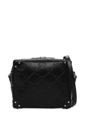 Gg Embossed Leather Crossbody Bag