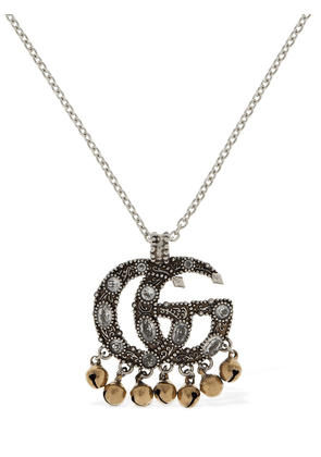 Gg Marmont Ethnic Charm Long Necklace