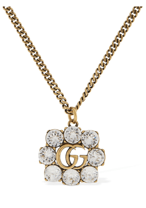 Gg Marmont Necklace W/ Crystal