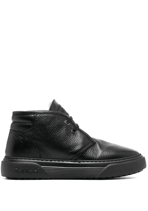 Baldinini lace-up leather ankle boots - Black