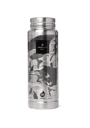 Heimplanet - V12 Printed Stainless Steel Insulated Bottle, 1080ml - Men - Silver