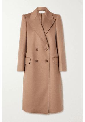 Alexander McQueen - Double-breasted Camel Hair Coat - Sand