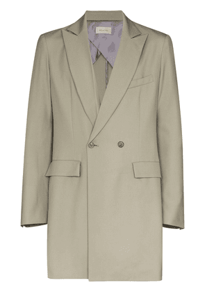 Bed J.W. Ford double-breasted blazer jacket - Neutrals