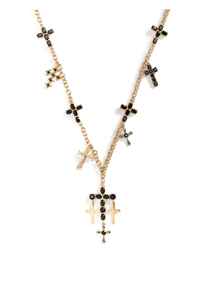 Dolce & Gabbana cross pendant necklace - Gold