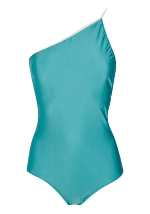 Adriana Degreas one shoulder swimsuit - Blue