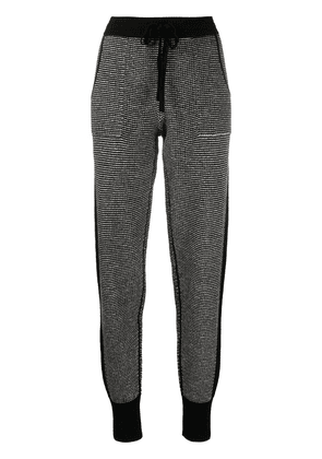Eres Journal chunky-knit lounge trousers - Grey