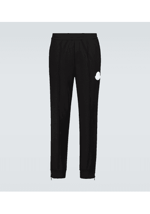 Cotton trackpants with logo