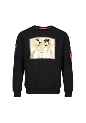 Alpha Industries Lunar Plaque Sweater Black