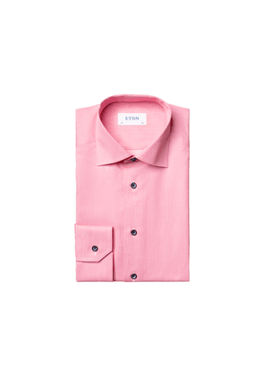 Eton Contemporary Fit Pastel Red Shirt