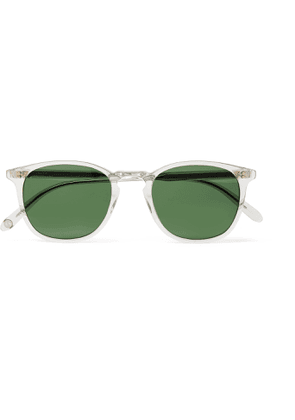 GARRETT LEIGHT CALIFORNIA OPTICAL - Kinney D-Frame Acetate Sunglasses - Men - Neutrals