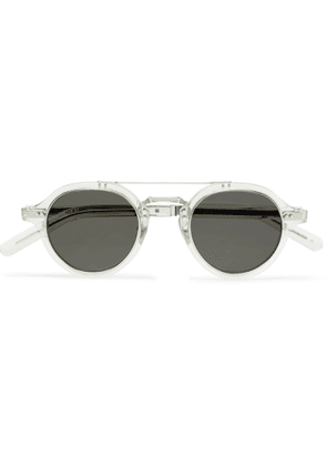 MR LEIGHT - Ridley S Aviator-Style Acetate and Silver-Tone Sunglasses - Men - Yellow