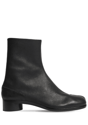 30mm Tabi Camel Ankle Boots