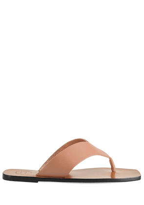 10mm Merine Leather Thong Sandals