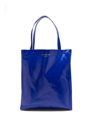 Acne Studios - Oilcloth Coated-twill Tote Bag - Mens - Blue
