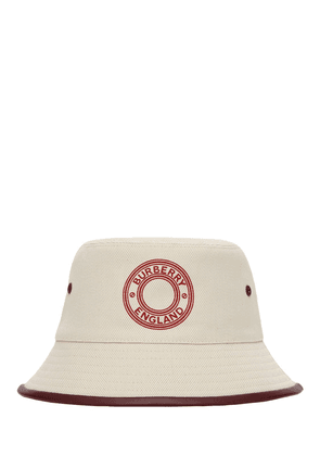 Logo Cotton Bucket Hat