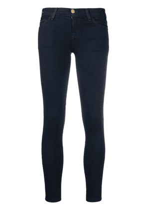 Current/Elliott low rise skinny cut jeans - Blue