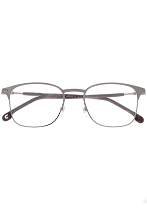 Carrera matte-effect square-frame glasses - Brown