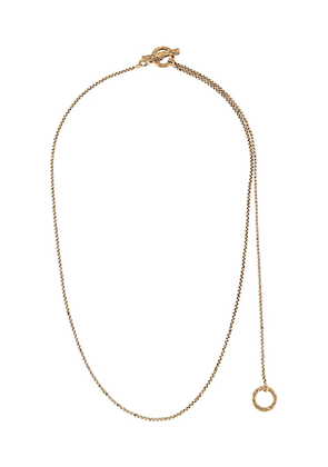 Acne Studios round-pendant necklace - Gold