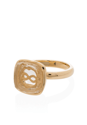 Foundrae 18kt yellow gold cocktail ring