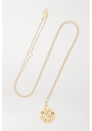 Brooke Gregson - Mini Mars 14-karat Gold Diamond Necklace