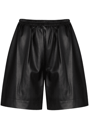 STAUD elasticated waistband shorts - Black