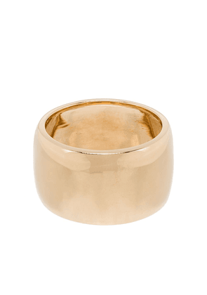Adina Reyter 14kt yellow gold chunky band ring