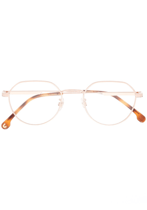 Carrera geometric frame glasses - GOLD