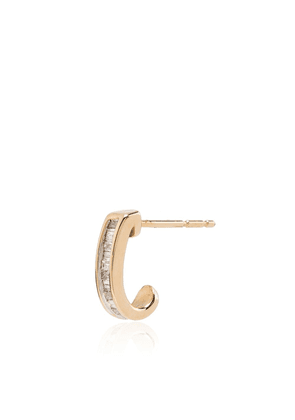 Adina Reyter 14kt yellow gold diamond huggies