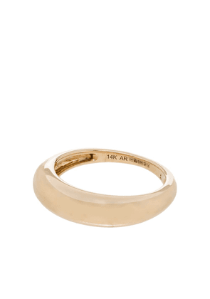 Adina Reyter 14kt yellow gold polished stackable ring