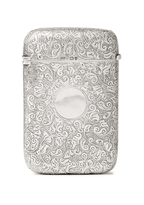 Foundwell - Engraved Sterling Silver Cigar Case - Men - Silver