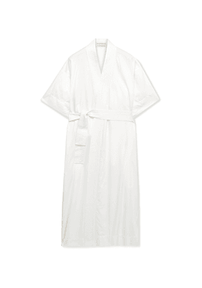 Cleverly Laundry - Cotton Robe - Men - White - 1