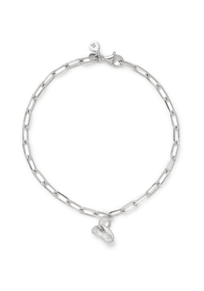 Alice Made This - Bardo Rhodium-Plated Chain Bracelet - Men - Silver