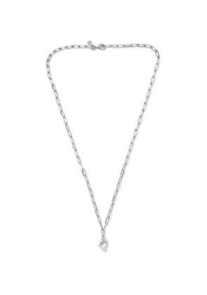 Alice Made This - Bardo Rhodium-Plated Chain Necklace - Men - Silver
