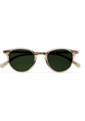 MR LEIGHT - Marmont S Round-Frame Acetate and Silver-Tone Sunglasses - Men - Gray