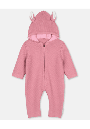Stella McCartney Kids Pink Horse Knit All-In-One, Unisex, Size 15-18