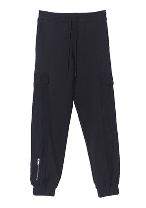 By Malene Birger Maxwell Nylon-Trimmed Cotton Jersey Jogger Pants