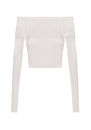Anna October Anechka Off-The-Shoulder Knit Top