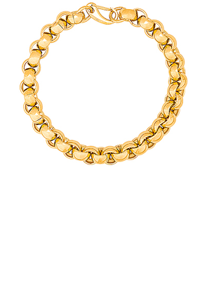 LAURA LOMBARDI Luna Chain Necklace in Gold - Metallic. Size all.