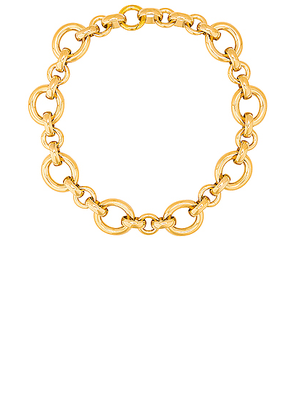 LAURA LOMBARDI Calle Necklace in Gold - Metallic. Size all.