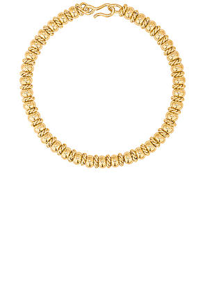 LAURA LOMBARDI Serena Necklace in Gold - Metallic. Size all.