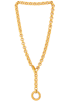LAURA LOMBARDI Rina Necklace in Gold - Metallic. Size all.