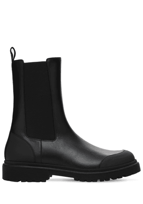 30mm Patty Leather Chelsea Boots