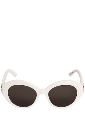 0133s Dynasty Oval Acetate Sunglasses