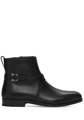 Perpignan Leather Boots