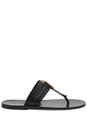 10mm Brighton Leather Thong Sandals