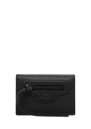Neo Class Leather Mini Wallet