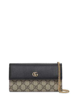Petite Marmont Gg Supreme Leather Bag