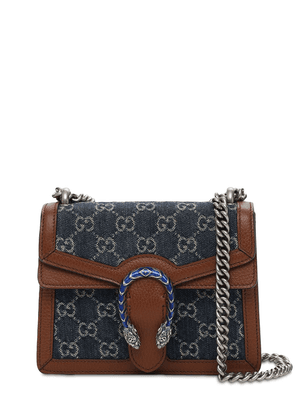 Dionysus Denim Gg Shoulder Bag